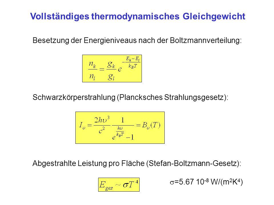 Vollständiges thermodynamisches Gleichgewicht