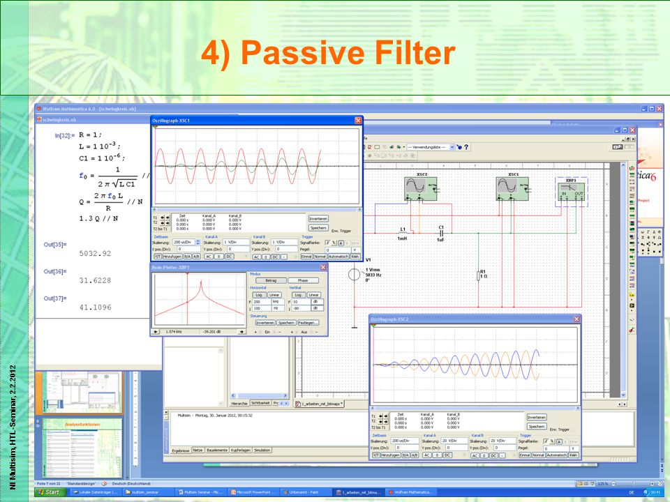 4) Passive Filter
