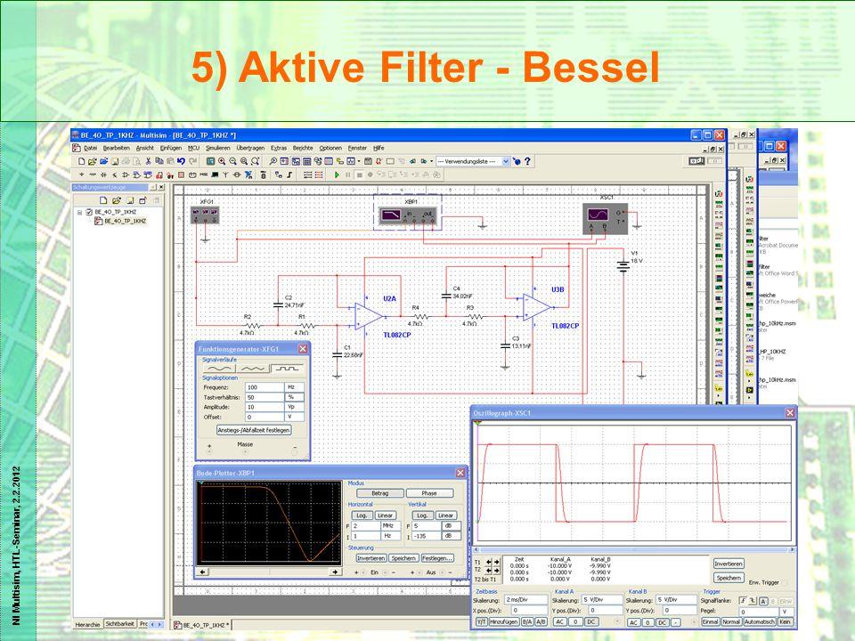 5) Aktive Filter - Bessel