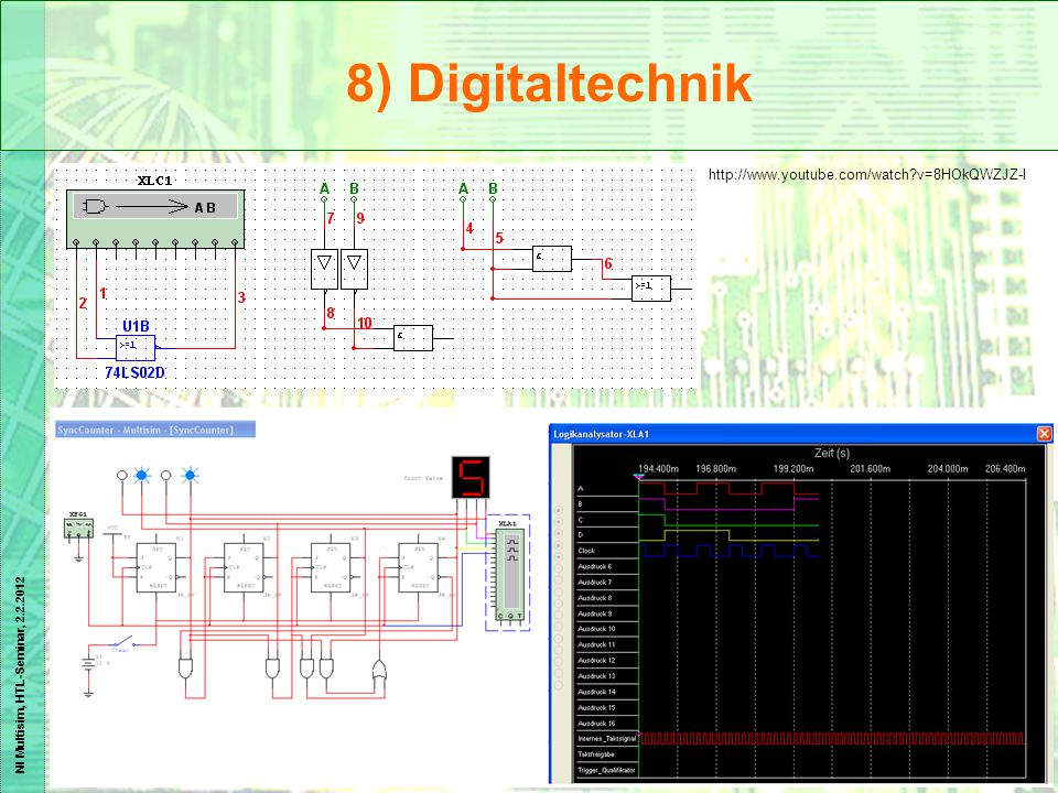 8) Digitaltechnik http://www.youtube.com/watch v=8HOkQWZJZ-I