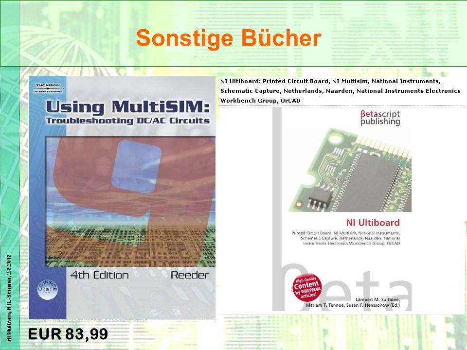 Sonstige Bücher EUR 83,99