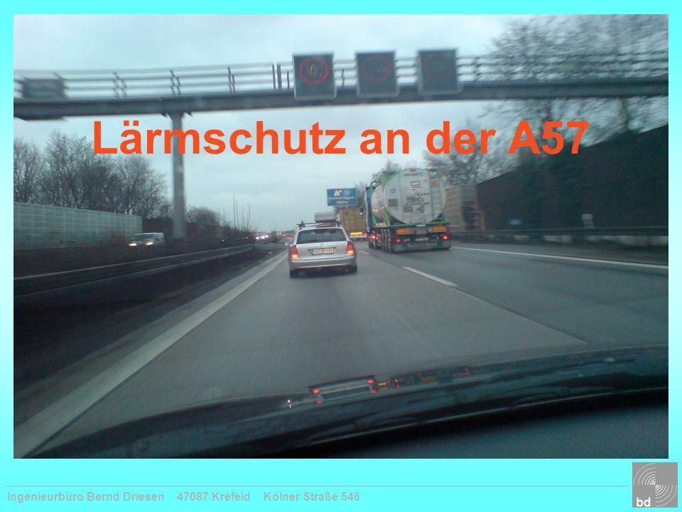 Lärmschutz an der A57