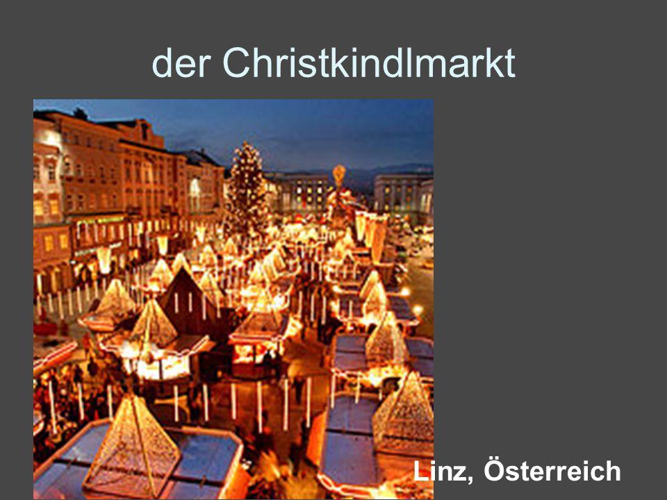 der Christkindlmarkt Linz, Österreich