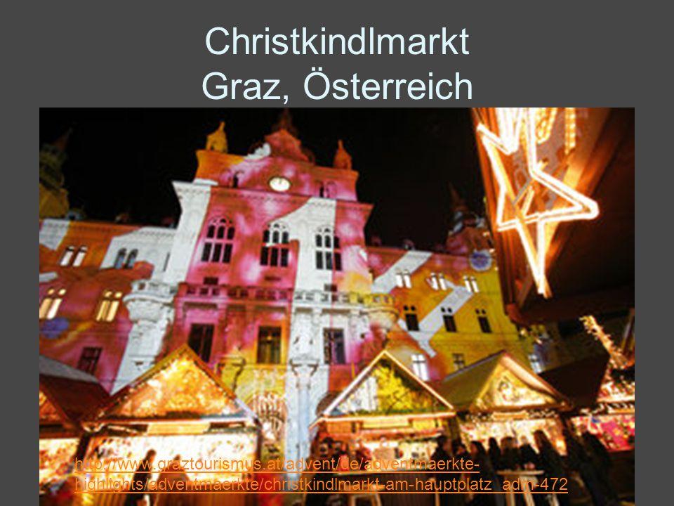 Christkindlmarkt Graz, Österreich
