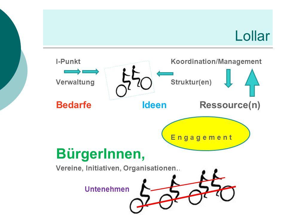 Lollar BürgerInnen, Bedarfe Ideen Ressource(n)