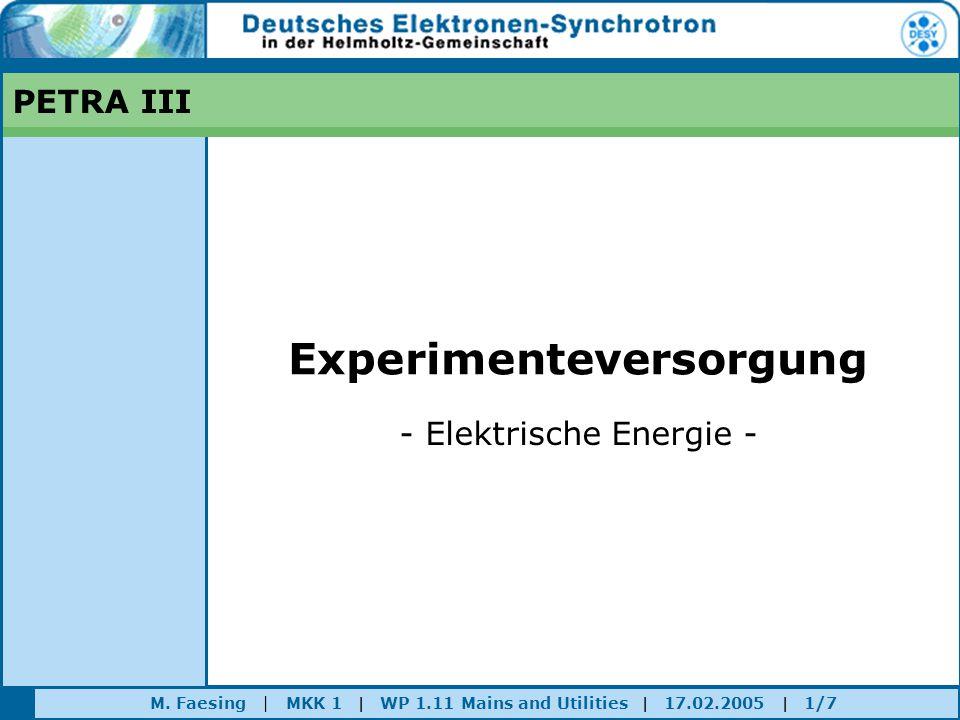 Experimenteversorgung