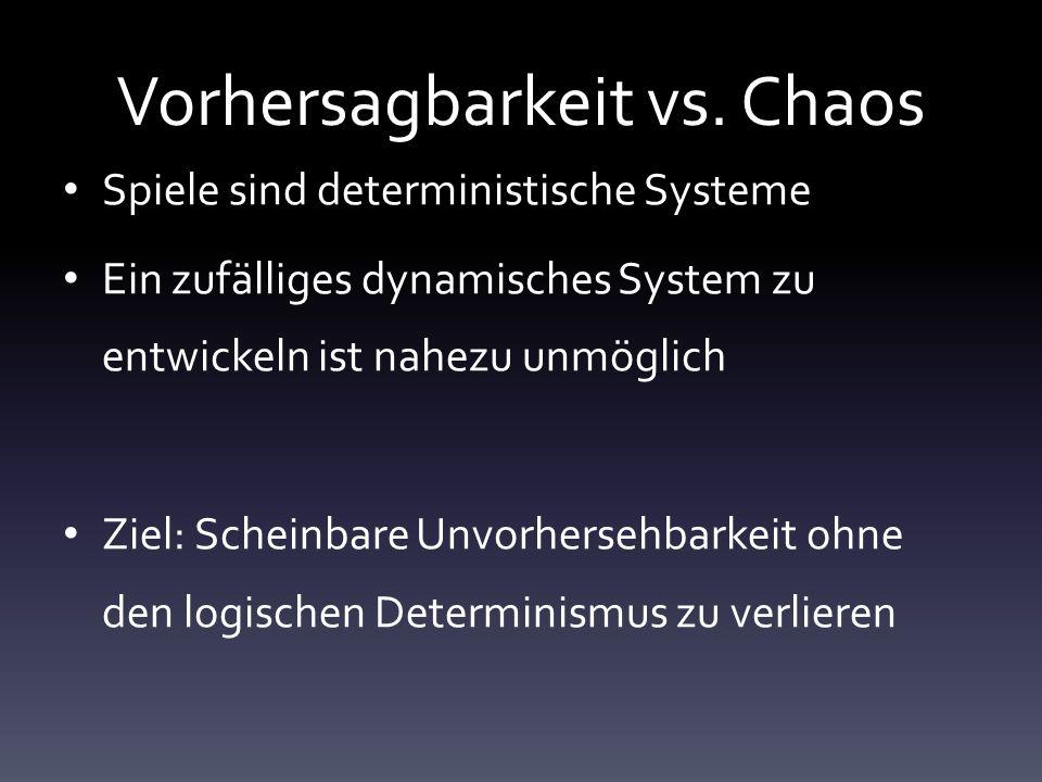 Vorhersagbarkeit vs. Chaos