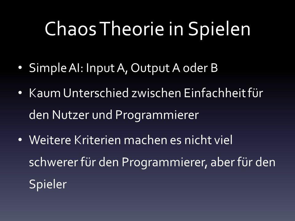 Chaos Theorie in Spielen