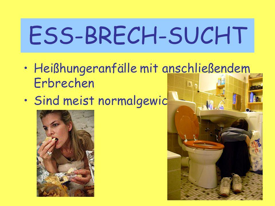 ESS-BRECH-SUCHT Heißhungeranfälle mit anschließendem Erbrechen
