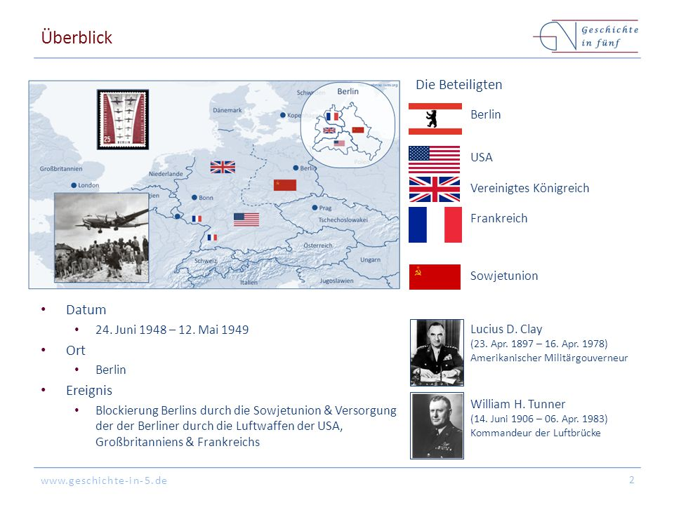 Überblick Die Beteiligten Datum Ort Ereignis Berlin USA