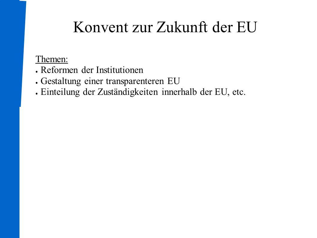 Konvent zur Zukunft der EU
