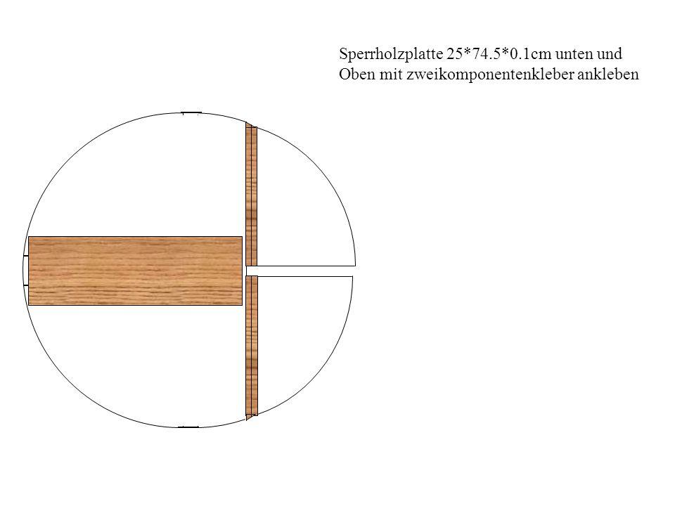 Sperrholzplatte 25*74.5*0.1cm unten und