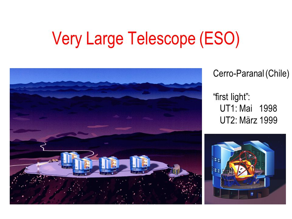 Very Large Telescope (ESO)