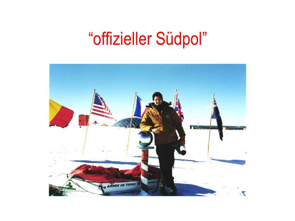 offizieller Südpol