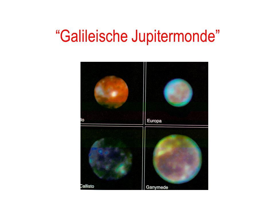 Galileische Jupitermonde