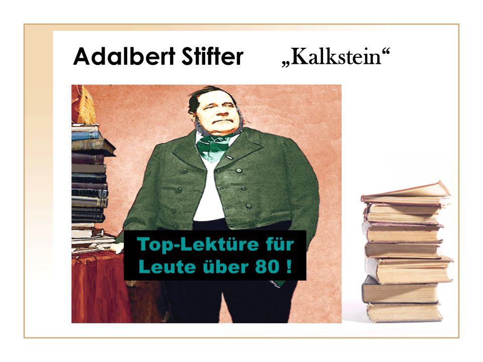 Top-Lektüre für Leute über 80 !