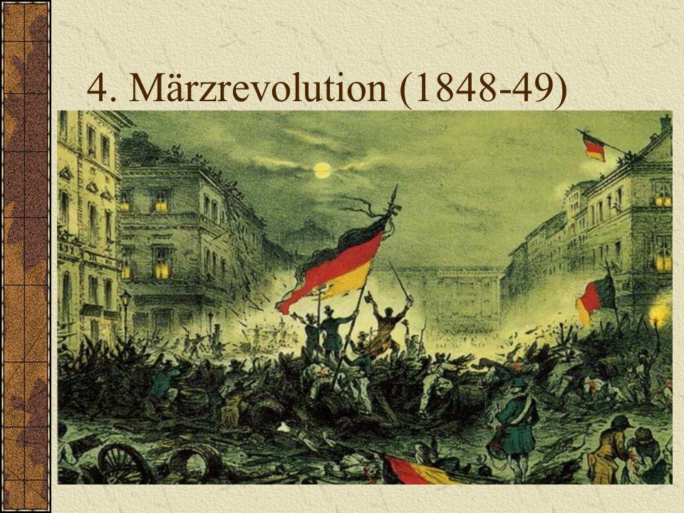 4. Märzrevolution (1848-49)