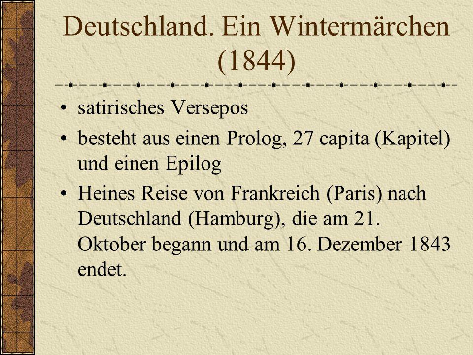 Deutschland. Ein Wintermärchen (1844)