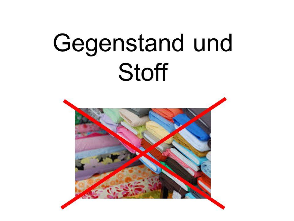 Gegenstand und Stoff. - ppt video online herunterladen