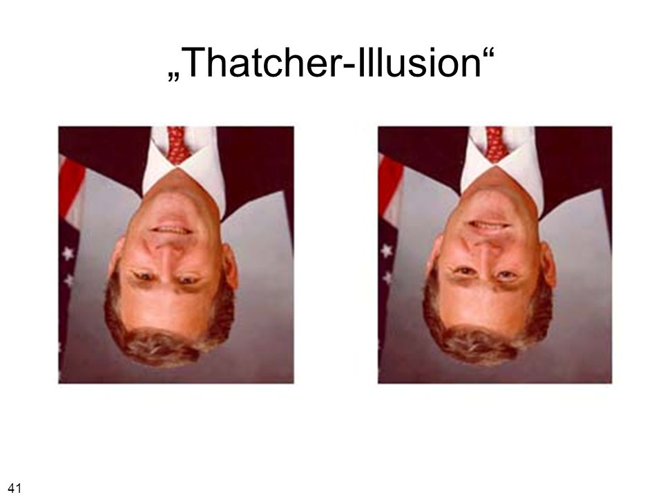 """Thatcher-Illusion"