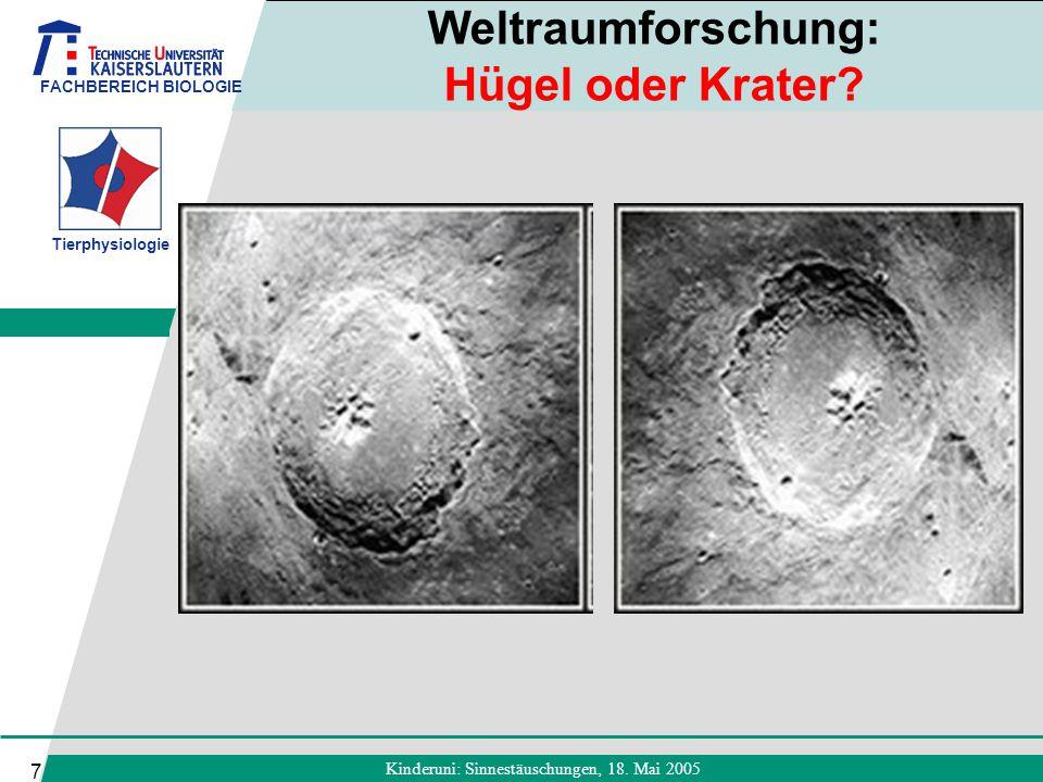 Weltraumforschung: Hügel oder Krater
