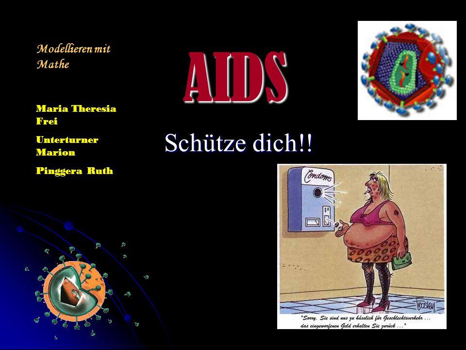 AIDS Schütze dich!! Modellieren mit Mathe Maria Theresia Frei
