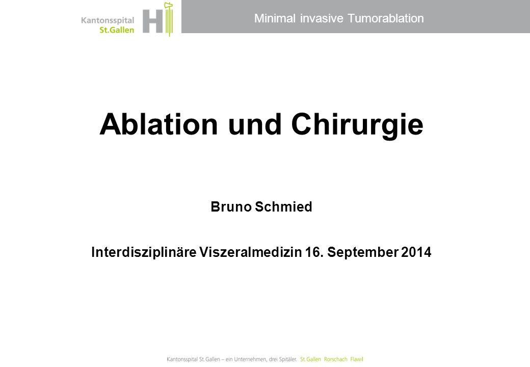 Ablation und Chirurgie