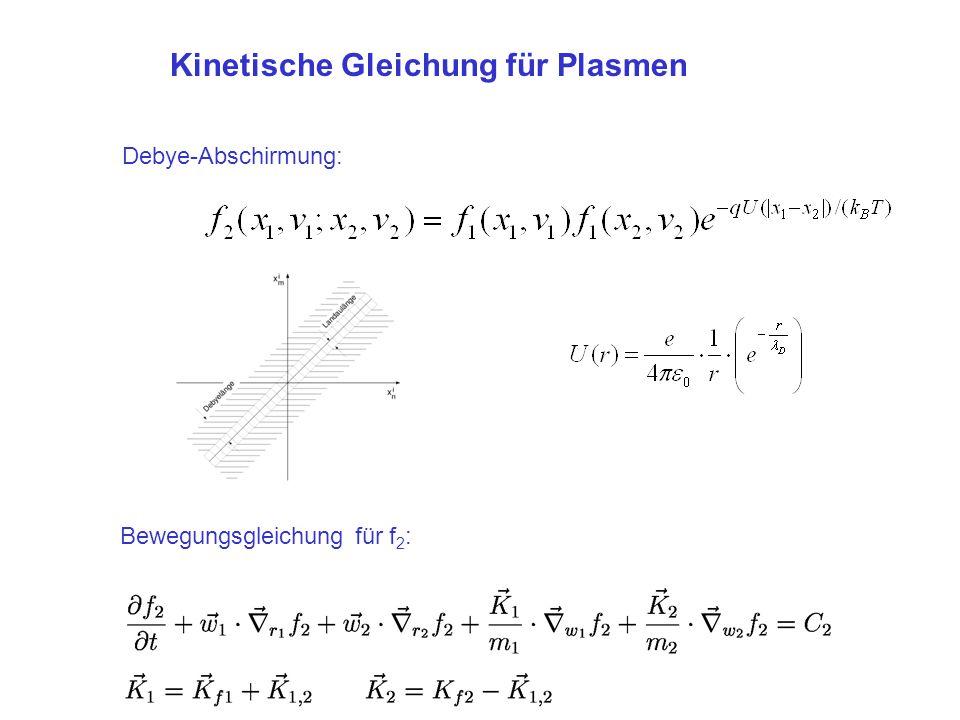 Kinetische Gleichung für Plasmen
