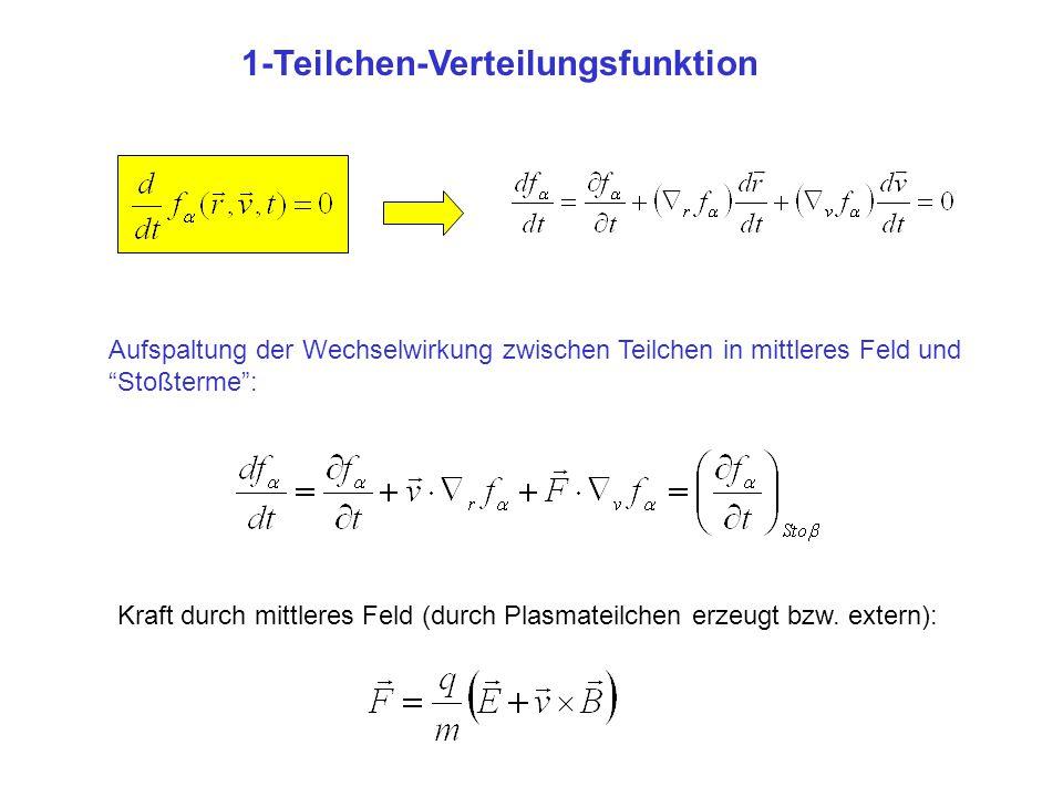 1-Teilchen-Verteilungsfunktion