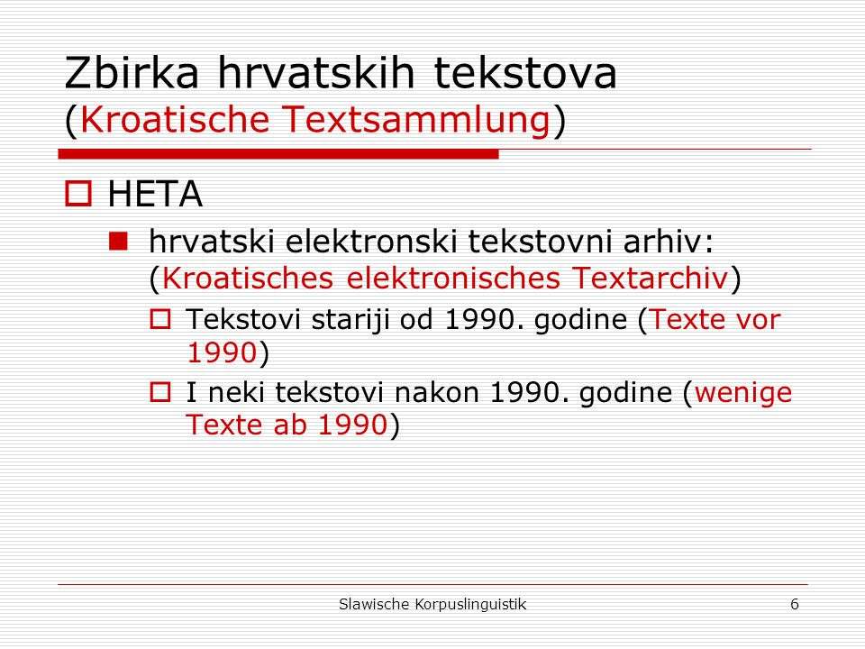 Zbirka hrvatskih tekstova (Kroatische Textsammlung)
