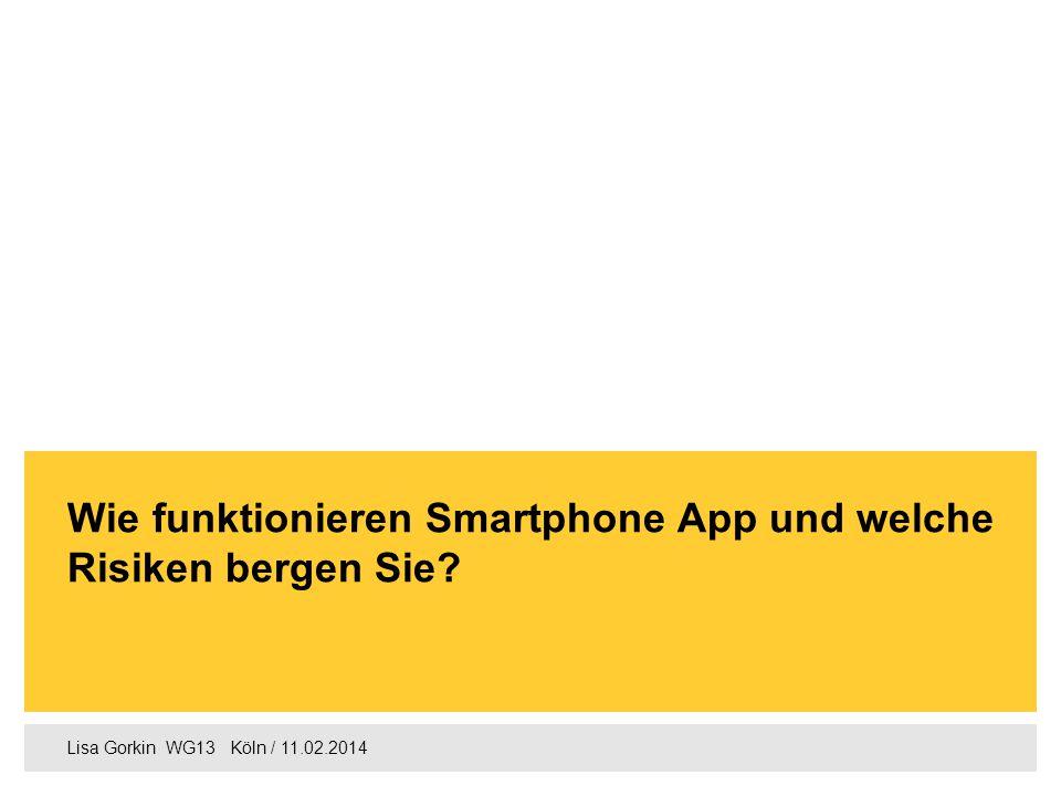 Agenda 1. Definition Smartphone App Seite 2 2.