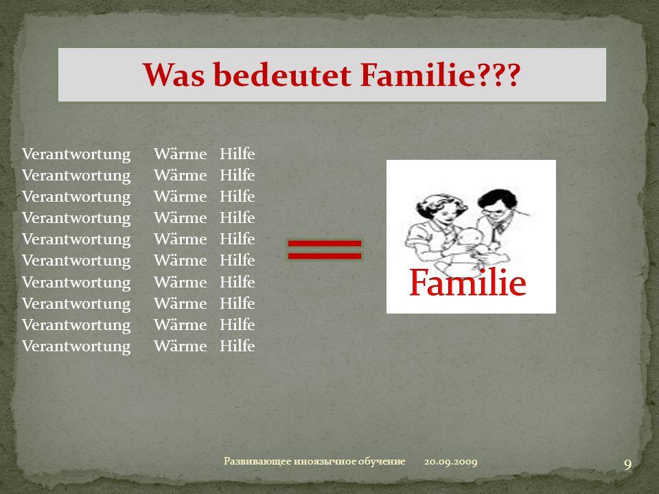 Familie Was bedeutet Familie