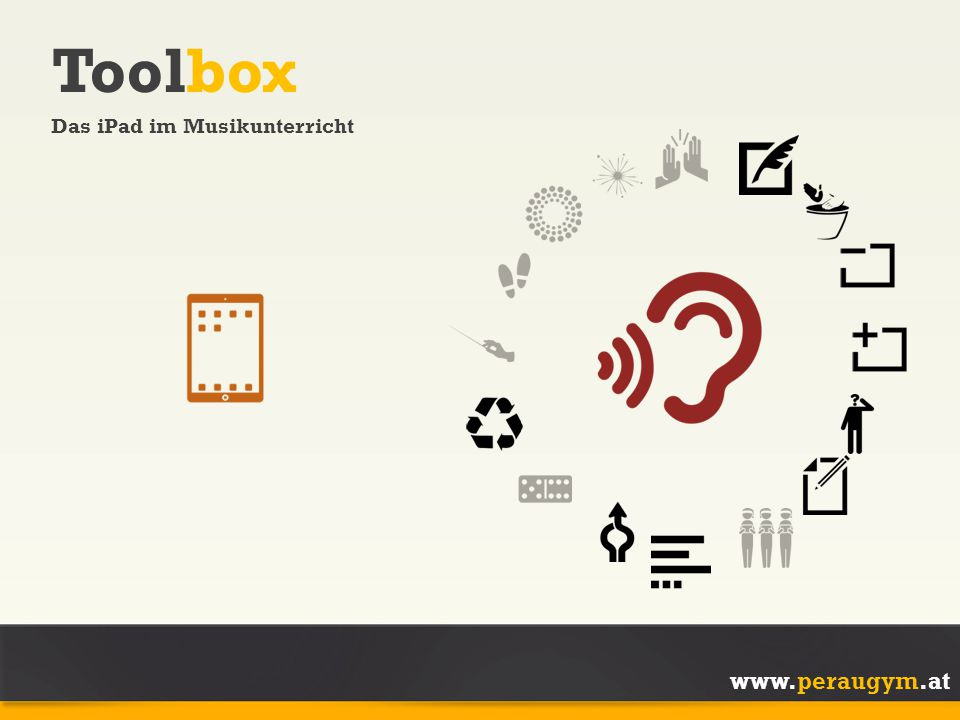 Toolbox Das iPad im Musikunterricht