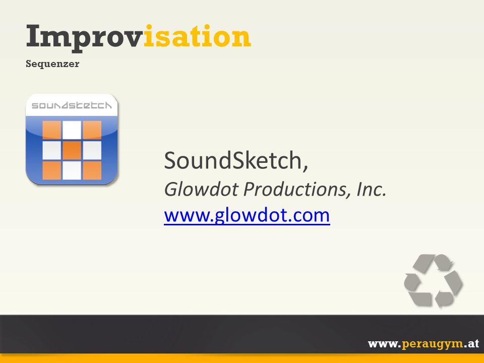 Improvisation SoundSketch, Glowdot Productions, Inc. www.glowdot.com