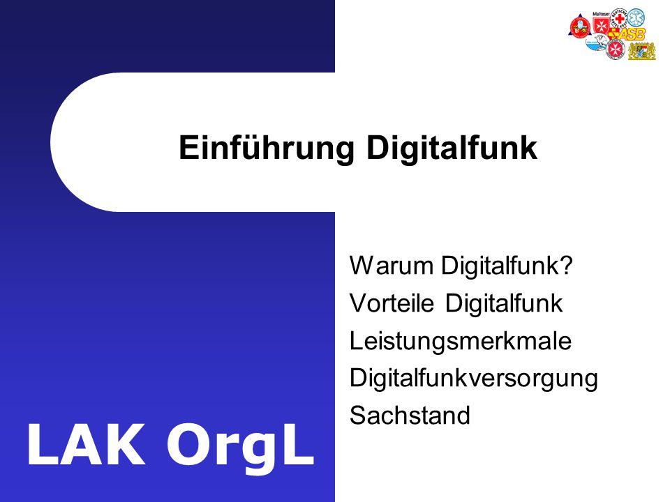Einführung Digitalfunk