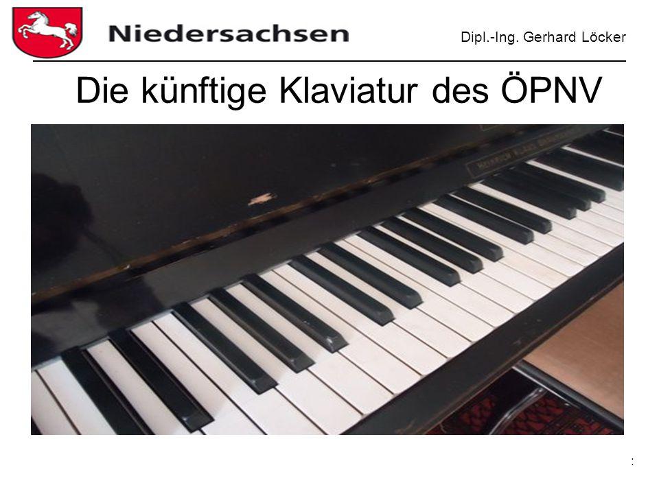Die künftige Klaviatur des ÖPNV