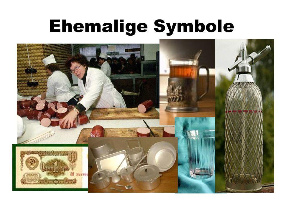 Ehemalige Symbole