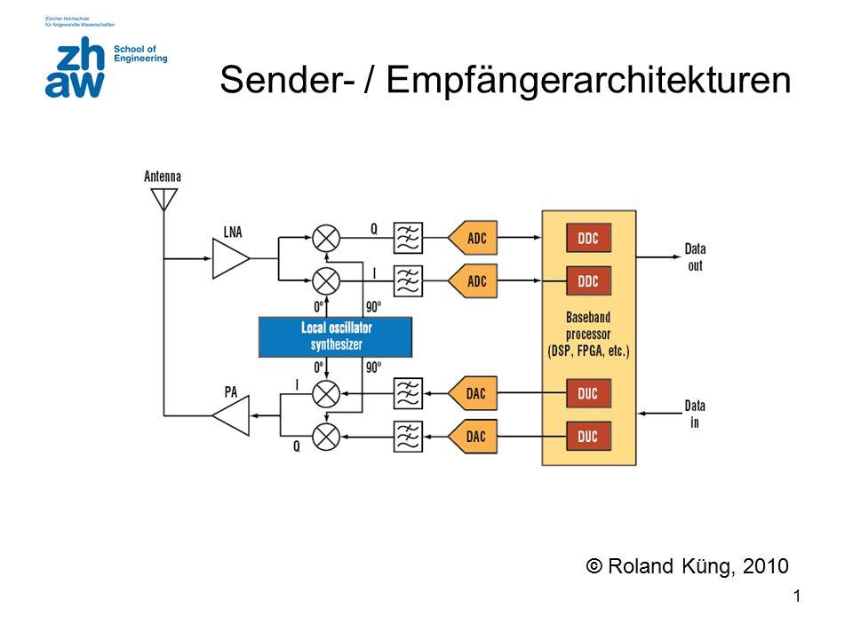 Sender- / Empfängerarchitekturen