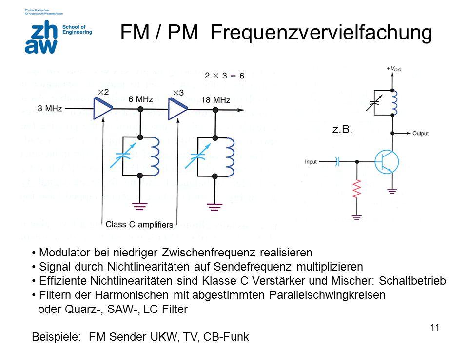 FM / PM Frequenzvervielfachung