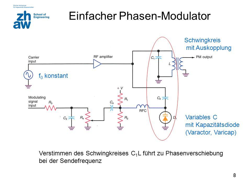 Einfacher Phasen-Modulator