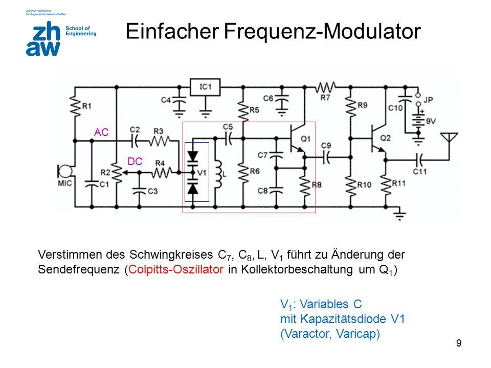 Einfacher Frequenz-Modulator