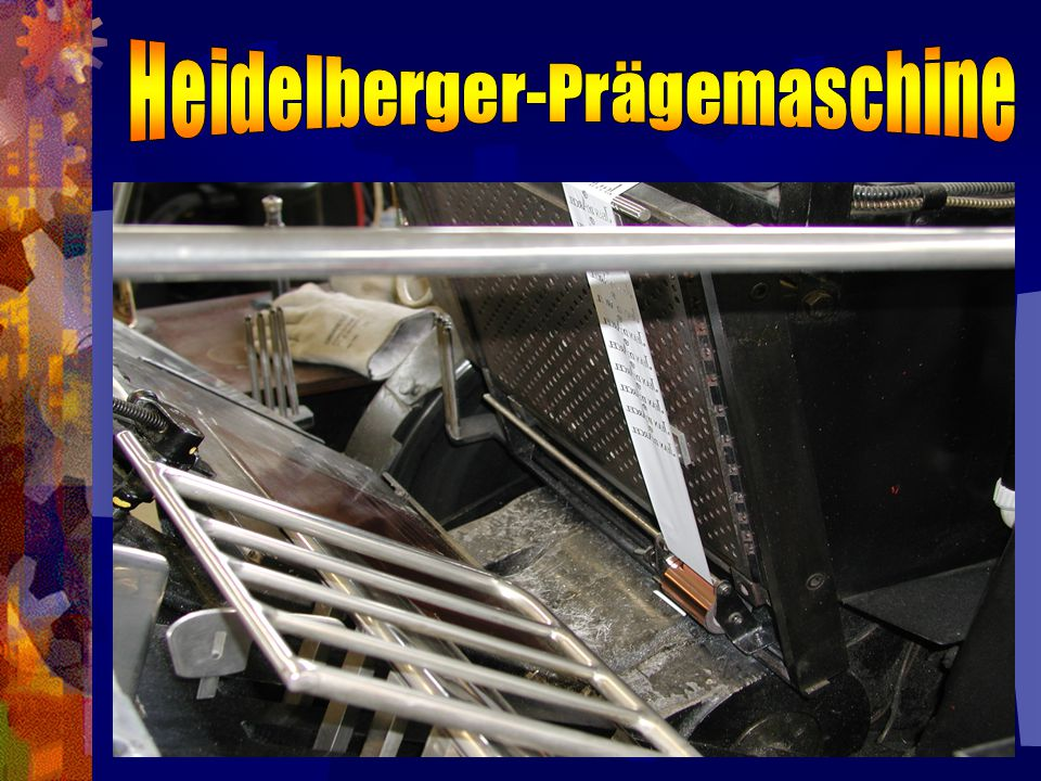 Heidelberger-Prägemaschine