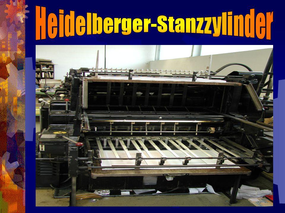 Heidelberger-Stanzzylinder