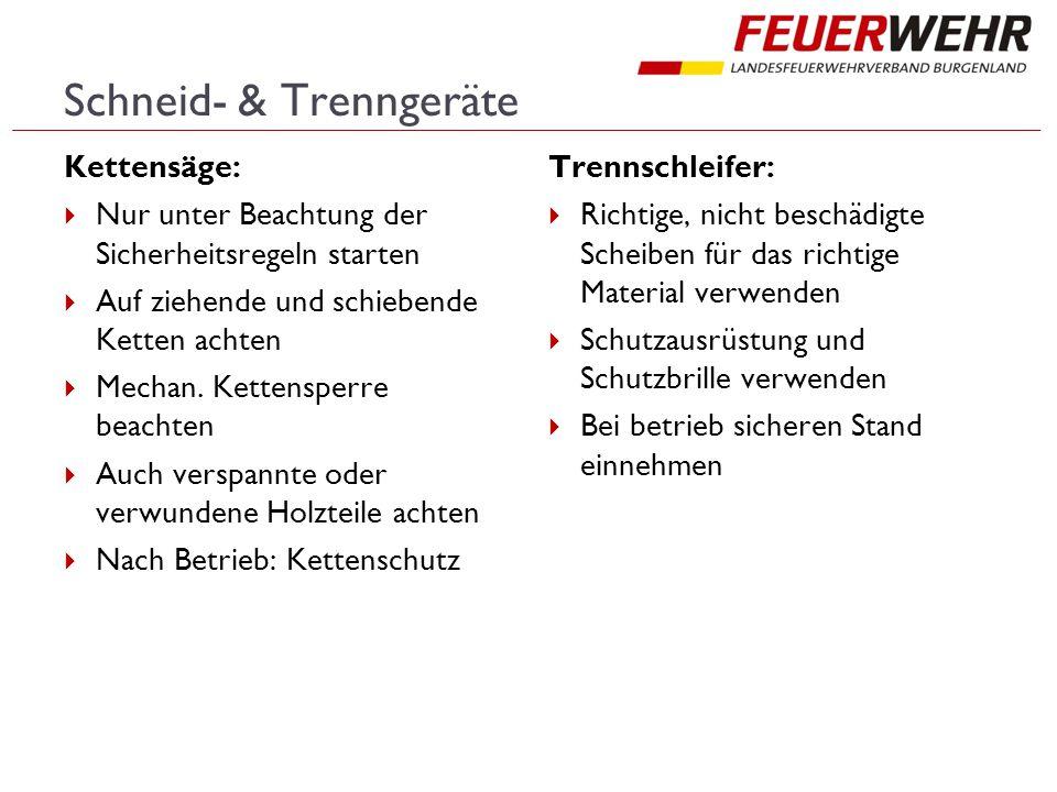 Schneid- & Trenngeräte