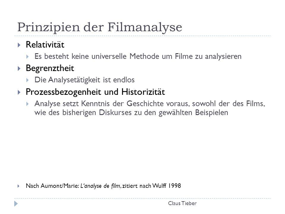Prinzipien der Filmanalyse