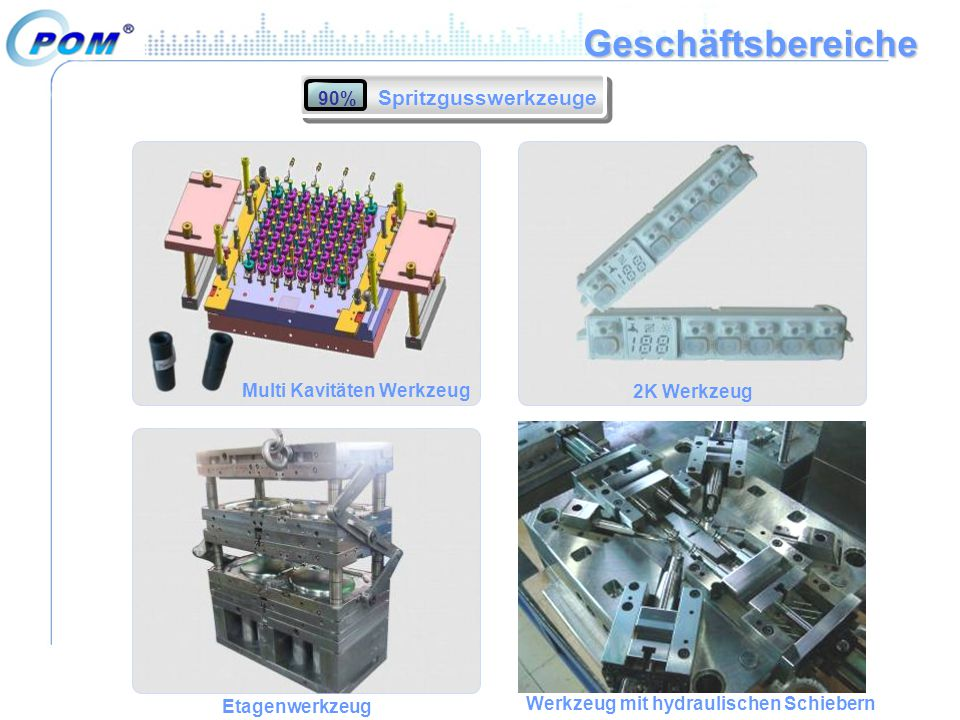 Geschäftsbereiche Spritzgusswerkzeuge 90% Multi Kavitäten Werkzeug