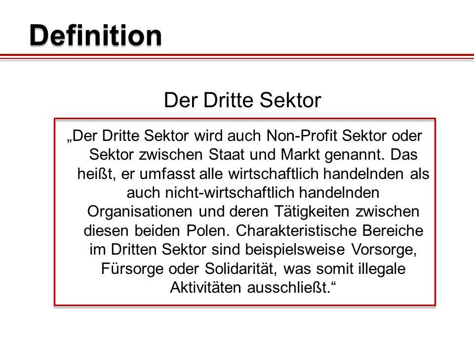 Definition Der Dritte Sektor