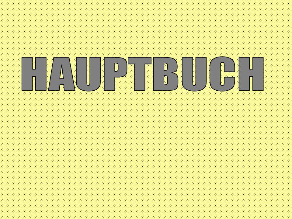 HAUPTBUCH