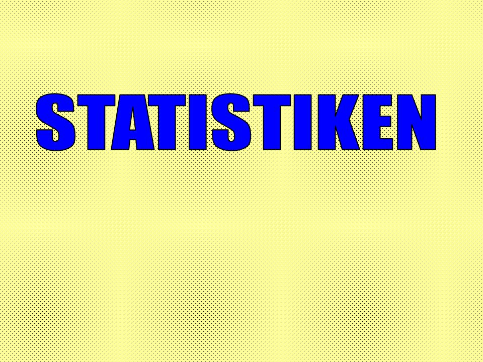 STATISTIKEN