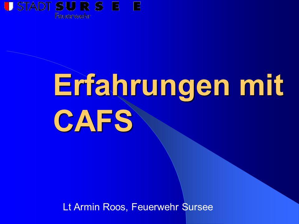 Lt Armin Roos, Feuerwehr Sursee